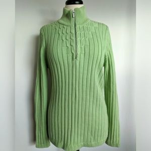 Liz Claiborne pullover v-neck or mock turtleneck